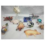 Pig Tree Topper, Ornaments and Decor