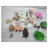 Pig and other Assorted Ornaments