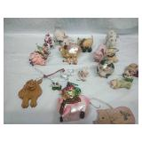 Assorted Pig Ornaments