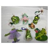 Lord & Taylor and other Frog Ornaments NWT