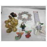 Assorted Decor, Ornaments, Pine Cone Light Covers