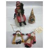 House of Hatten Santa Decor/Ornaments
