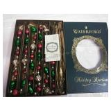 Waterford Holiday Heirlooms Glass Garland