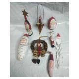 House of Hatten, Dept 56 and Assorted Santa
