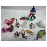 Vintage and other Assorted Ornaments