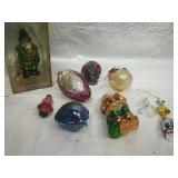 Carnival Glass  and other Assorted Glass