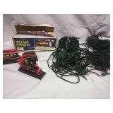 3 Piece Village Express Train and Assorted Lights
