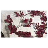 Imitation berries on  vine decoration