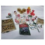 Assorted Mini Ornaments - Many in PKG