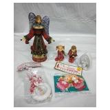 Assorted Candleholders,  ornaments and ceramic