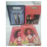 Pair of Family Circle Christmas Treasury Books