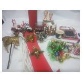 Candles, ornaments, handmade door hangers, and