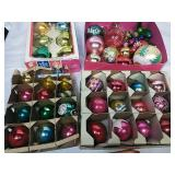 Assorted Vintage Glass Ornaments