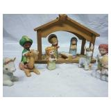 Precious Moments Nativity Scene