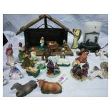 Religious Scene Plug in Candle and Assorted