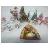 Napcoware Bone China Snowman, Midwest Trinket Box