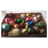 Assorted vintage ornaments