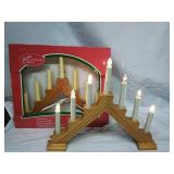 Pair of Christmas Classics Electric Candlesticks
