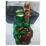 Christopher Radko Glass Frog Ornament