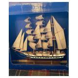 Belem Model Ship