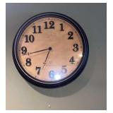 Battery Opp Wall Clock 14 inch