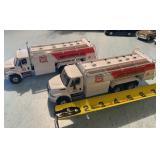 (2) Phillips 66 Fuel Trucks Diecast