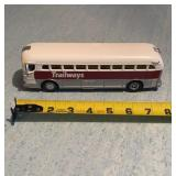 M.T.H. Diecast Trailways Bus