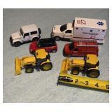 Diecast Ambulance Tractors