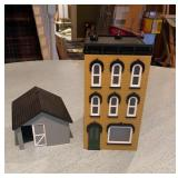 O Gauge M.T.H. Town House & Shed