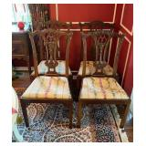 Set of 4 Dining Room Chairs (modern)