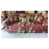 Floral Print Expressions Custom Furniture Sofa