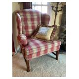 L T Designs Upholstered Arm Chair
