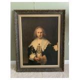 Framed Rembrandt Print