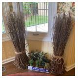 Stick Bundles & Faux succulents