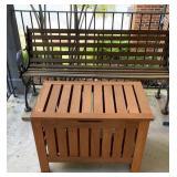 Teak Wood Table / Storage Box