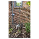 Plant Stands & 2 Metal Trellises