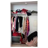 Contents of Closet Woman