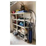 Contents of Garage (Shelves Not Included)