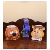 Muppets Mugs & (Glued Figurine)