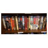 Shelf lot of WWII Books
