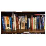 Shelf lot of Misc Books