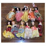 Collection of Plastic Dolls
