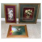 Framed Prints & Hummingbird Photo