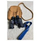 Swift 8.5x44 Binoculars W/ Leather Bag
