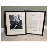 Richard Nixon Signed Photo & Christmas Letter