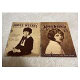 Movie Weekly 1923 & 1924