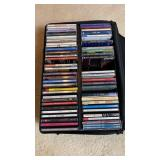 Collection of Jazz CDs w/ Case