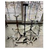 Lot of Musical Idnstrument Stands