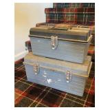 Pair of Empty Tool Boxes