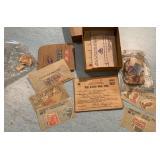 War Ration Booklet & Lot of Stamps